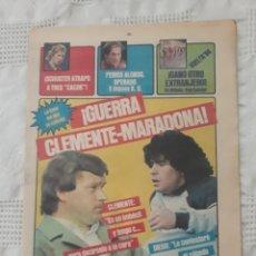 Coleccionismo deportivo: DIARIO SPORT DEL 1 DE MAYO DE1984 - GUERRA , CLEMENTE - MARADONA.. Lote 231356110