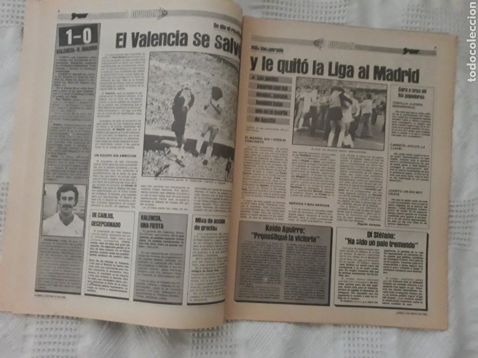Coleccionismo deportivo: DIARIO SPORT . 2 DE MAYO DE 1983 .EL ATHLETIC, CAMPEON !. - Foto 3 - 231358790