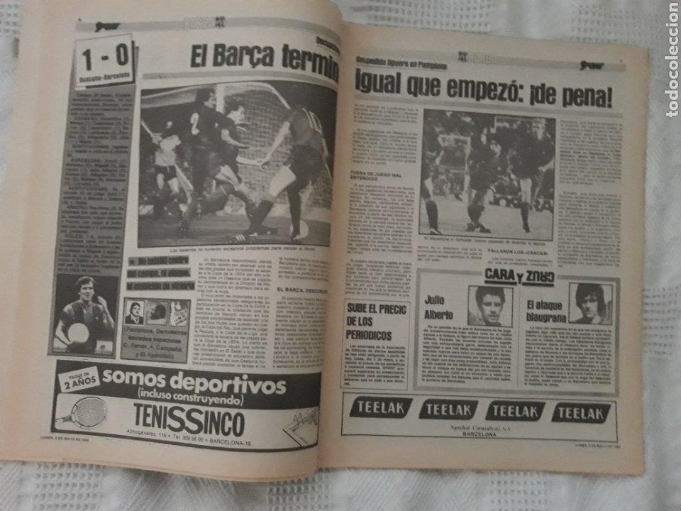 Coleccionismo deportivo: DIARIO SPORT . 2 DE MAYO DE 1983 .EL ATHLETIC, CAMPEON !. - Foto 4 - 231358790