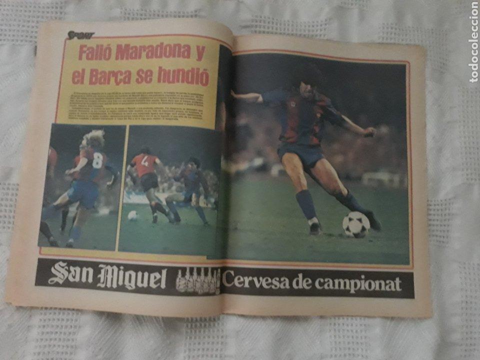 Coleccionismo deportivo: DIARIO SPORT . 2 DE MAYO DE 1983 .EL ATHLETIC, CAMPEON !. - Foto 6 - 231358790