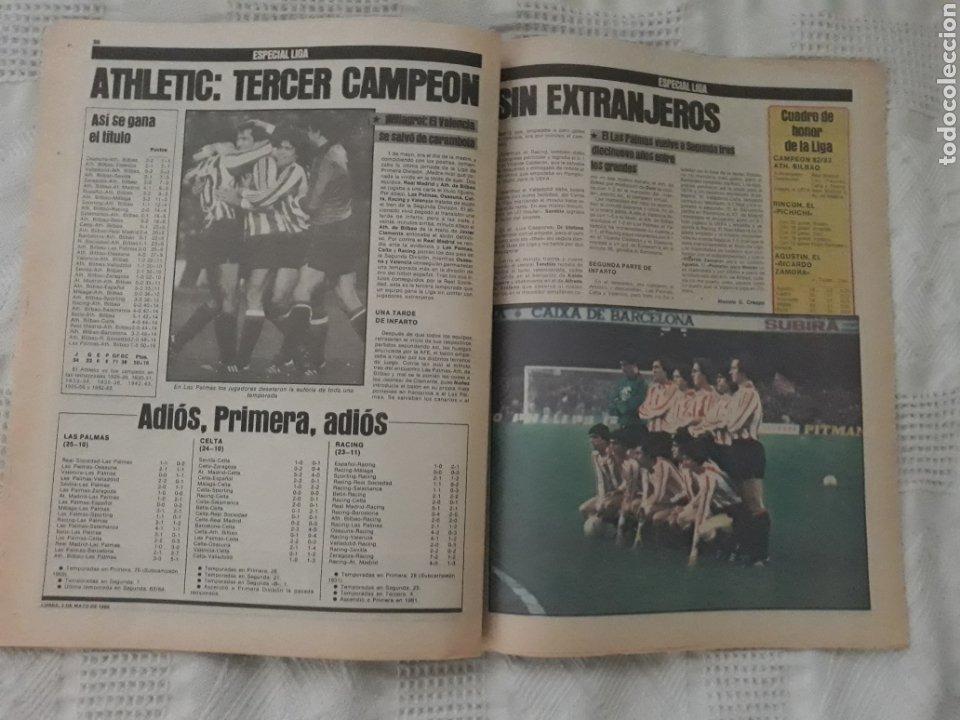 Coleccionismo deportivo: DIARIO SPORT . 2 DE MAYO DE 1983 .EL ATHLETIC, CAMPEON !. - Foto 7 - 231358790