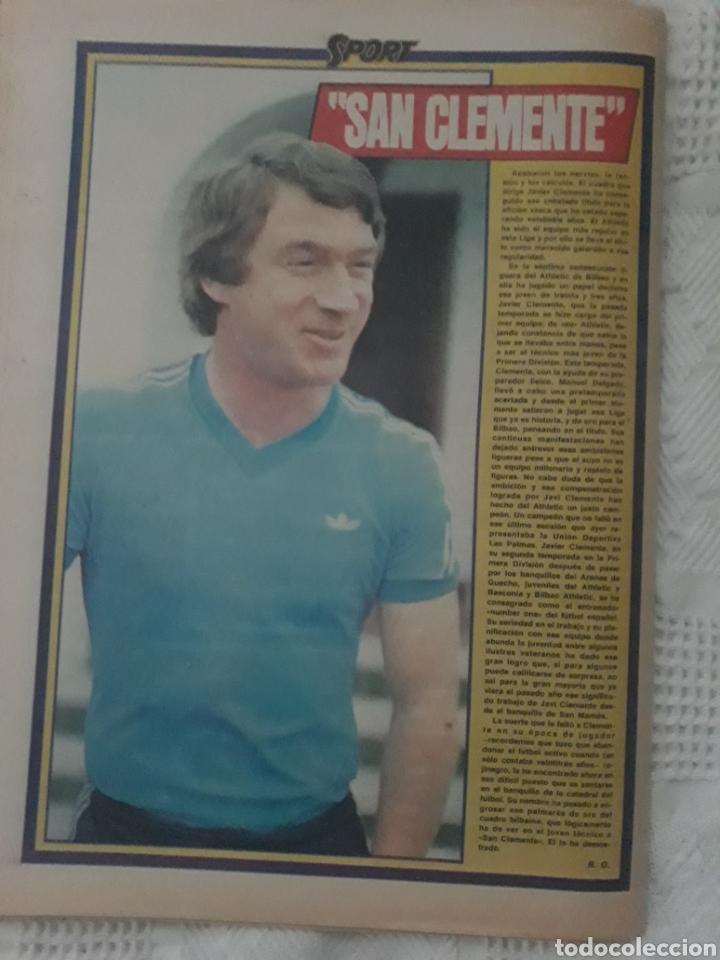 Coleccionismo deportivo: DIARIO SPORT . 2 DE MAYO DE 1983 .EL ATHLETIC, CAMPEON !. - Foto 8 - 231358790