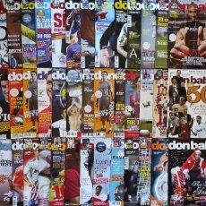 Coleccionismo deportivo: LOTE 38 REVISTAS DON BALON AÑO 2009 Nº ENTRE 1732 Y 1782 - FUTBOL POSTER LIGA. Lote 231589430