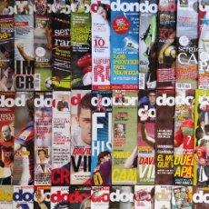 Coleccionismo deportivo: LOTE 32 REVISTAS DON BALON AÑO 2010 Nº ENTRE 1784 - 1834 SIN POSTER - FUTBOL LIGA. Lote 231591485