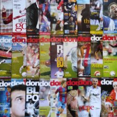 Coleccionismo deportivo: LOTE 26 REVISTAS DON BALON AÑO 2007 Nº ENTRE 1629 - 1679 SIN POSTER - FUTBOL LIGA. Lote 231592595