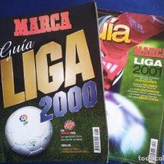 Coleccionismo deportivo: MARCA. GUÍA DE LA LIGA DE FÚTBOL 2000 - 2001. Lote 231701090