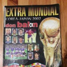 Collezionismo sportivo: EXTRA MUNDIAL FUTBOL COREA JAPON 2002 DON BALON. Lote 232714260
