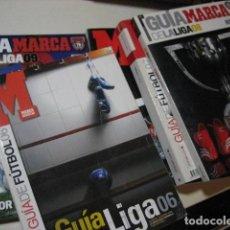Collezionismo sportivo: LOTE 5 GUIA LIGA MARCA EXTRA 2004 2006 2007 2008 2009 T 04/05 06/07 07/08 08/09 09/10 RESERVADO. Lote 232847823