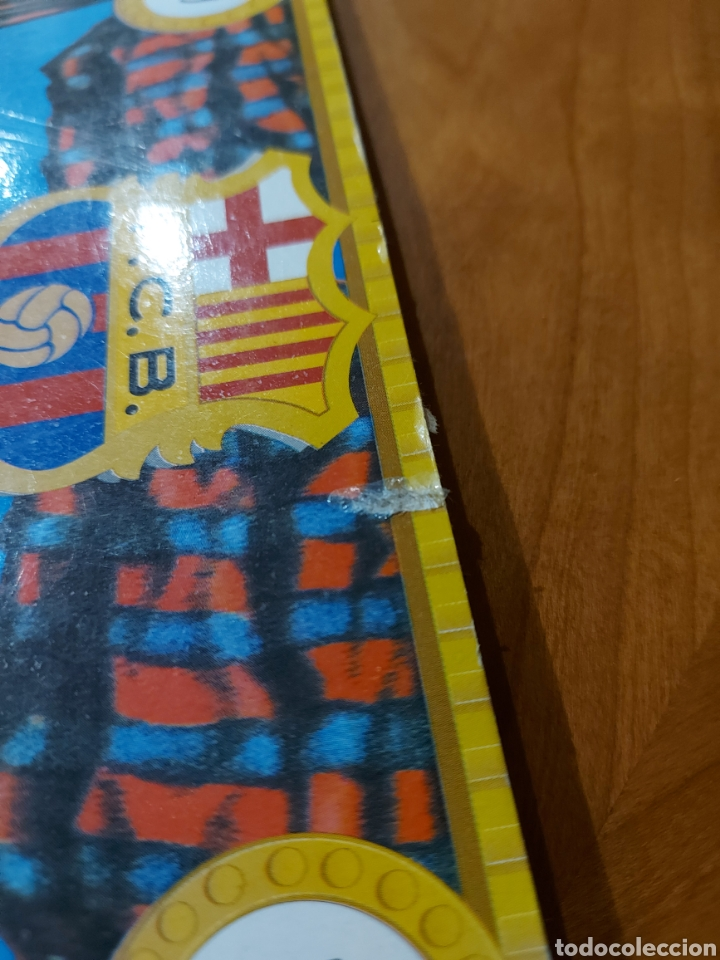 Coleccionismo deportivo: Diari Sport Pins Històrics del Barça 9 Láminas + pin Balón oro Stoichkov 1994 - Foto 12 - 232990775