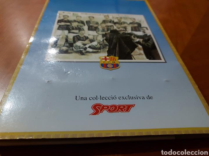 Coleccionismo deportivo: Diari Sport Pins Històrics del Barça 9 Láminas + pin Balón oro Stoichkov 1994 - Foto 13 - 232990775
