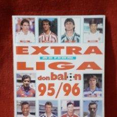 Coleccionismo deportivo: DON BALON EXTRA LIGA 95 / 96. Lote 233186505