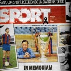 Collectionnisme sportif: SPORT IN MEMORIAM JOHAN CRUYFF. Lote 233209085