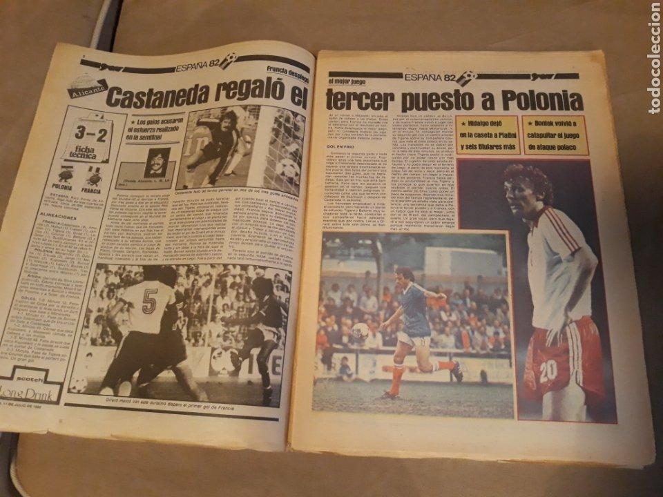 Coleccionismo deportivo: DIARIO SPORT 11-7-1982 . HOY LA FINAL , ALEMANIA O ITALIA . ¡ TRICAMPEONES ! MUNDIAL ESPAÑA 82 - Foto 2 - 233636385