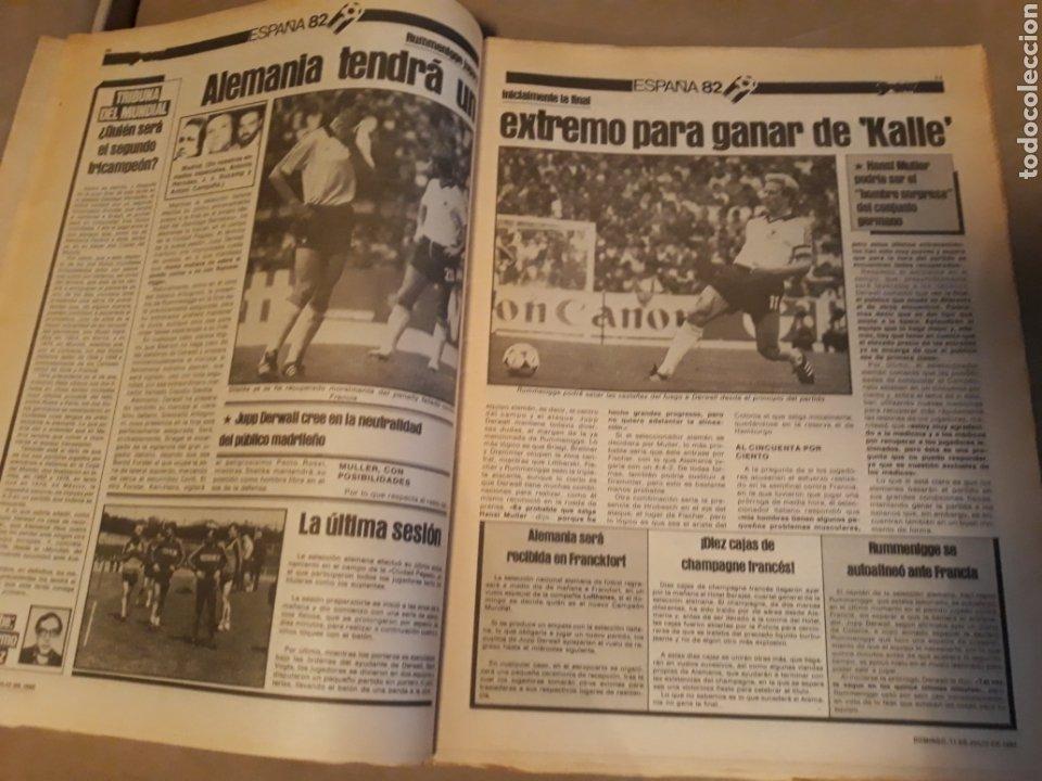 Coleccionismo deportivo: DIARIO SPORT 11-7-1982 . HOY LA FINAL , ALEMANIA O ITALIA . ¡ TRICAMPEONES ! MUNDIAL ESPAÑA 82 - Foto 3 - 233636385
