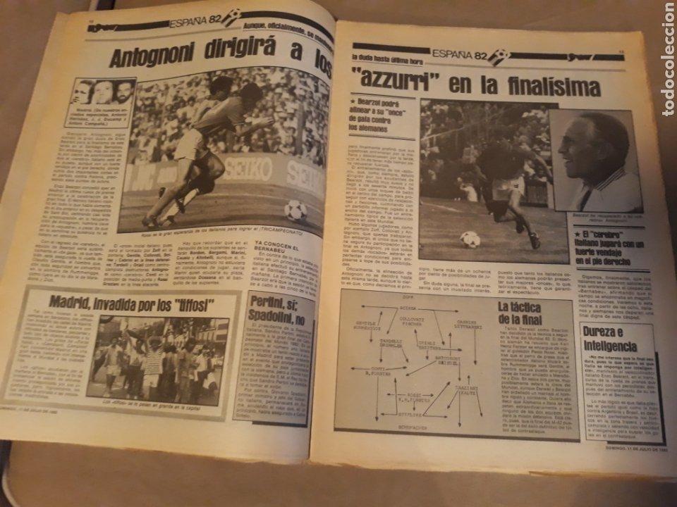 Coleccionismo deportivo: DIARIO SPORT 11-7-1982 . HOY LA FINAL , ALEMANIA O ITALIA . ¡ TRICAMPEONES ! MUNDIAL ESPAÑA 82 - Foto 4 - 233636385