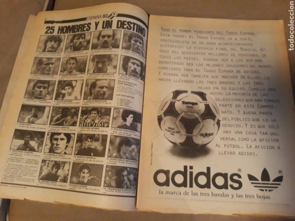 Coleccionismo deportivo: DIARIO SPORT 11-7-1982 . HOY LA FINAL , ALEMANIA O ITALIA . ¡ TRICAMPEONES ! MUNDIAL ESPAÑA 82 - Foto 6 - 233636385
