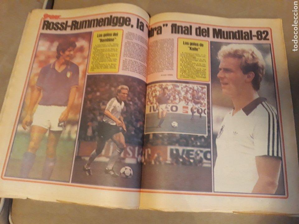Coleccionismo deportivo: DIARIO SPORT 11-7-1982 . HOY LA FINAL , ALEMANIA O ITALIA . ¡ TRICAMPEONES ! MUNDIAL ESPAÑA 82 - Foto 10 - 233636385