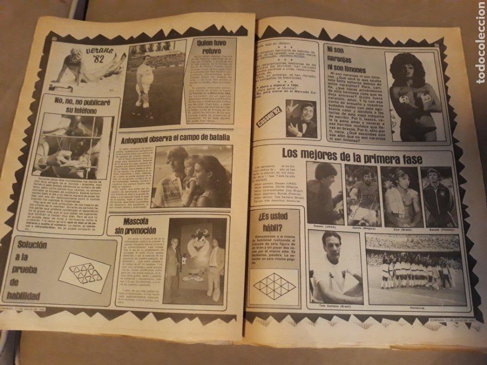 Coleccionismo deportivo: DIARIO SPORT 11-7-1982 . HOY LA FINAL , ALEMANIA O ITALIA . ¡ TRICAMPEONES ! MUNDIAL ESPAÑA 82 - Foto 11 - 233636385