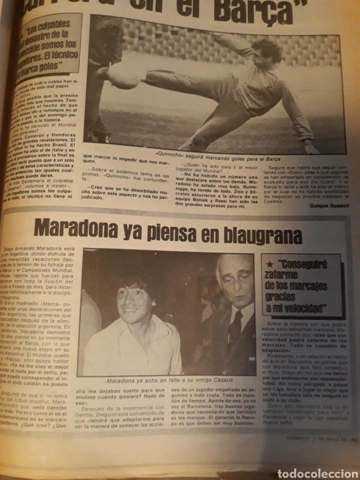 Coleccionismo deportivo: DIARIO SPORT 11-7-1982 . HOY LA FINAL , ALEMANIA O ITALIA . ¡ TRICAMPEONES ! MUNDIAL ESPAÑA 82 - Foto 12 - 233636385