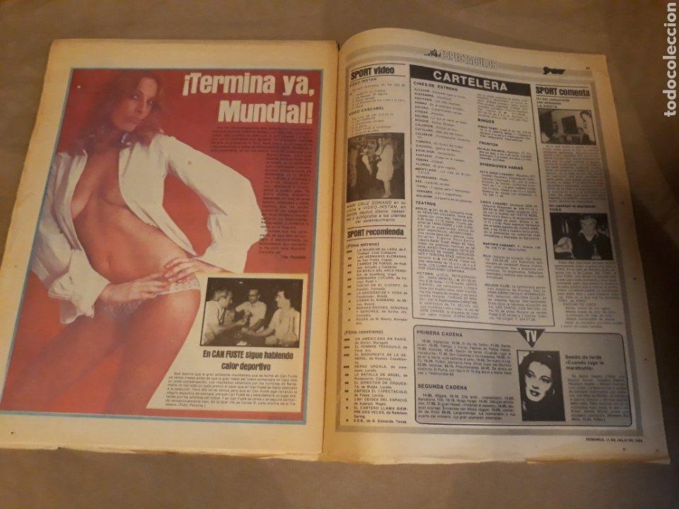 Coleccionismo deportivo: DIARIO SPORT 11-7-1982 . HOY LA FINAL , ALEMANIA O ITALIA . ¡ TRICAMPEONES ! MUNDIAL ESPAÑA 82 - Foto 13 - 233636385