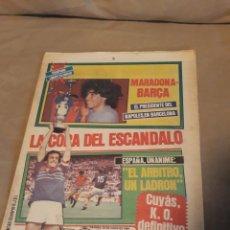Collezionismo sportivo: DIARIO SPORT JUNIO DE 1984 . MARADONA TRASPASO AL NAPOLES . EUROCOPA 84 . FRANCIA CAMPEÓN .ROBO .. Lote 233637425