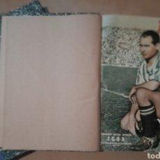 Coleccionismo deportivo: MARCA SEMANARIO GRÁFICO AÑO 1952 COMPLETO 50 REVISTAS. Lote 234097840