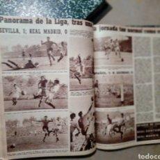 Coleccionismo deportivo: MARCA SEMANARIO GRÁFICO DE LOS DEPORTES AÑO 1954 .DOS TOMOS ENCUADERNADOS 50 REVISTAS. Lote 234112180