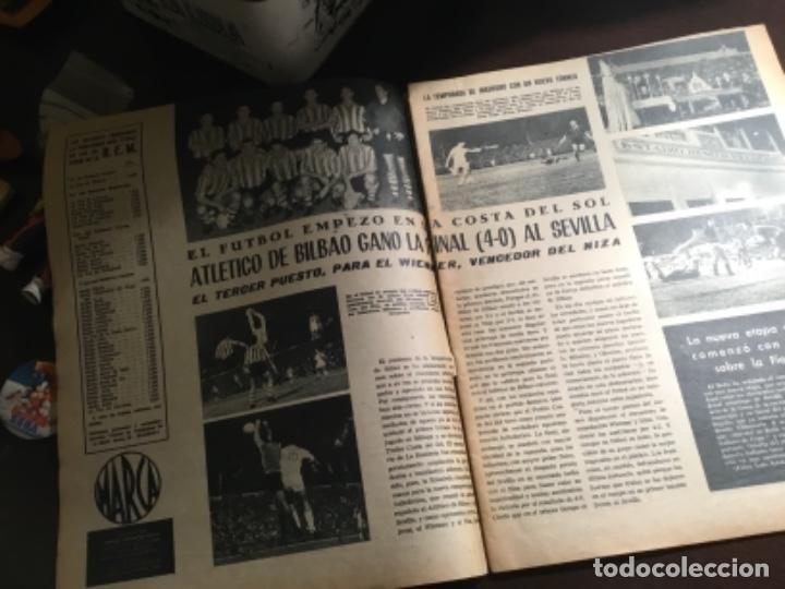 Coleccionismo deportivo: Antiguo periodico Athletic club de Bilbao campeón nuevo trofeo 1961 - Foto 4 - 234123540