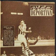 Coleccionismo deportivo: TOMO ENCUADERNADO VIDA DEPORTIVA - TEMPORADA 1951 1952 - 53 PERIODICOS -. Lote 234633525