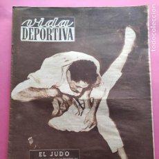 Coleccionismo deportivo: VIDA DEPORTIVA Nº 342 1952 REAL MADRID 2-4 MILLONARIOS - HOCKEY CD TARRASA CAMPEON - REUS DEPORTIVO. Lote 234645530
