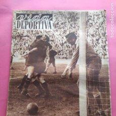 Coleccionismo deportivo: VIDA DEPORTIVA Nº 343 FC BARCELONA CAMPEON LIGA 51/52 BARÇA 1951/1952 - REUS DEPORTIVO HOCKEY. Lote 234646015