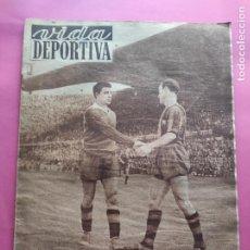 Coleccionismo deportivo: VIDA DEPORTIVA Nº 348 1952 SEMIFINALES COPA 51/52 BARÇA-VALLADOLID - MADRID-VALENCIA. Lote 234801645