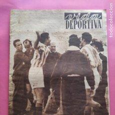 Coleccionismo deportivo: VIDA DEPORTIVA Nº 349 1952 VALENCIA - BARÇA FINALISTAS COPA 51/52 - JOVENTUT BASKET. Lote 234801925
