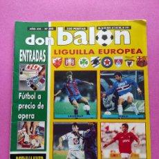 Coleccionismo deportivo: REVISTA DON BALON Nº 840 1991 ESPECIAL APENDICE GUIA LIGUILLA COPA EUROPA 91/92 BARÇA. Lote 234837635