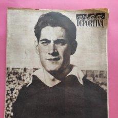 Coleccionismo deportivo: VIDA DEPORTIVA Nº 352 1952 ESPAÑA TURQUIA RAMALLETS - 6 DIAS BARCELONA COPPI GIRO 52 - BALONMANO. Lote 234855950