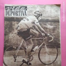 Coleccionismo deportivo: VIDA DEPORTIVA Nº 354 1952 COPPI TOUR FRANCIA 52 - JJOO HELSINKI - BARÇA COPA LATINA JUVENTUS NIZA. Lote 234858380
