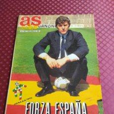 Coleccionismo deportivo: AS COLOR 225 ESPECIAL ITALIA 90 FORZA ESPAÑA POSTER SELECCION ESPAÑOLA BUEN ESTADO. Lote 234973175