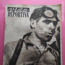 Coleccionismo deportivo: VIDA DEPORTIVA Nº 358 1952 CICLISMO COPPI TOUR FRANCIA 52 BERNARDO RUIZ - JUEGOS OLIMPICOS HELSINKI. Lote 235018505
