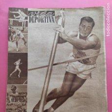 Collectionnisme sportif: VIDA DEPORTIVA Nº 361 1952 JUEGOS OLIMPICOS HELSINKI 52 JJOO - CALENDARIO LIGA 52/53 - WATERPOLO. Lote 235019125