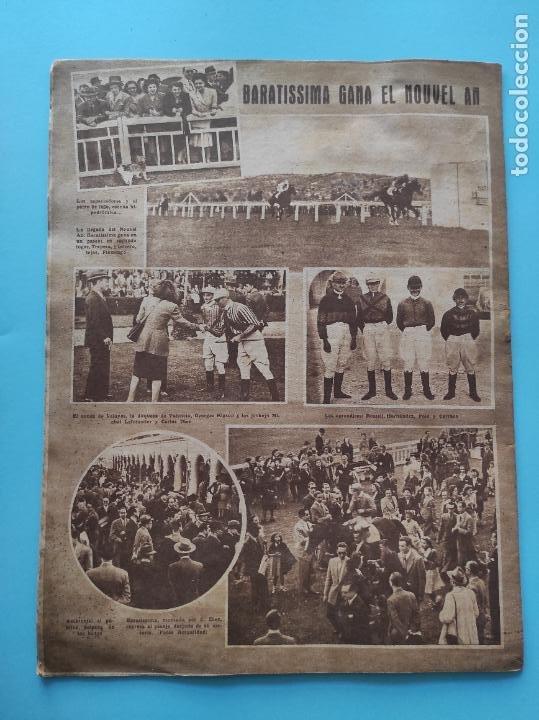 Coleccionismo deportivo: PERIODICO MARCA 1947 ALBACETE CULTURAL LEONESA - VALENCIA-ALCOYANO - Foto 4 - 235054040