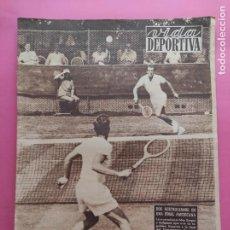 Coleccionismo deportivo: VIDA DEPORTIVA Nº 362 1952 PRETEMPORADA LIGA 52/53 REAL SOCIEDAD - MALAGA - DEPORTIVO CORUÑA. Lote 235060885