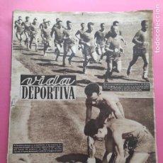Coleccionismo deportivo: VIDA DEPORTIVA Nº 363 1952 PRETEMPORADA LIGA 52/53 SCOPELLI RCD ESPAÑOL - REAL VALLADOLID - BARÇA. Lote 235063590