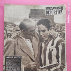 Coleccionismo deportivo: VIDA DEPORTIVA Nº 364 1952 PRETEMPORADA LIGA 52/53 REAL ZARAGOZA VALENCIA RACING SANTADER OVIEDO. Lote 235064370