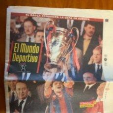 Coleccionismo deportivo: EL MUNDO DEPORTIVO 21 MAYO 1992 BARCELONA CAMPEON DE EUROPA. Lote 235107770