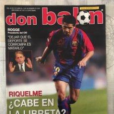 Coleccionismo deportivo: FÚTBOL DON BALÓN 1411 - POSTER RAYO - BARCELONA - VALENCIA - MILÁN - SPORTING - OVIEDO - COPAS EUROP. Lote 235221540