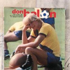 Coleccionismo deportivo: FÚTBOL DON BALÓN 380 - CROMOS VALLADOLID - ATLÉTICO VS MADRID - BARCELONA - QUINI - MURCIA. Lote 235222900