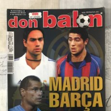 Coleccionismo deportivo: FÚTBOL DON BALÓN 1359 - POSTER VERÓN - MADRID - BARÇA - VILLARREAL - BIELSA - COPAS EUROPEAS - BETIS. Lote 235223550