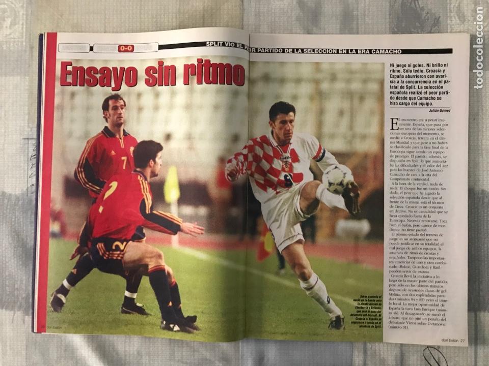 Coleccionismo deportivo: Fútbol don balón 1272 - Poster Kiko Atlético - Madrid vs Barça - Betis - España - V. Nistelrooy - Foto 4 - 235229020