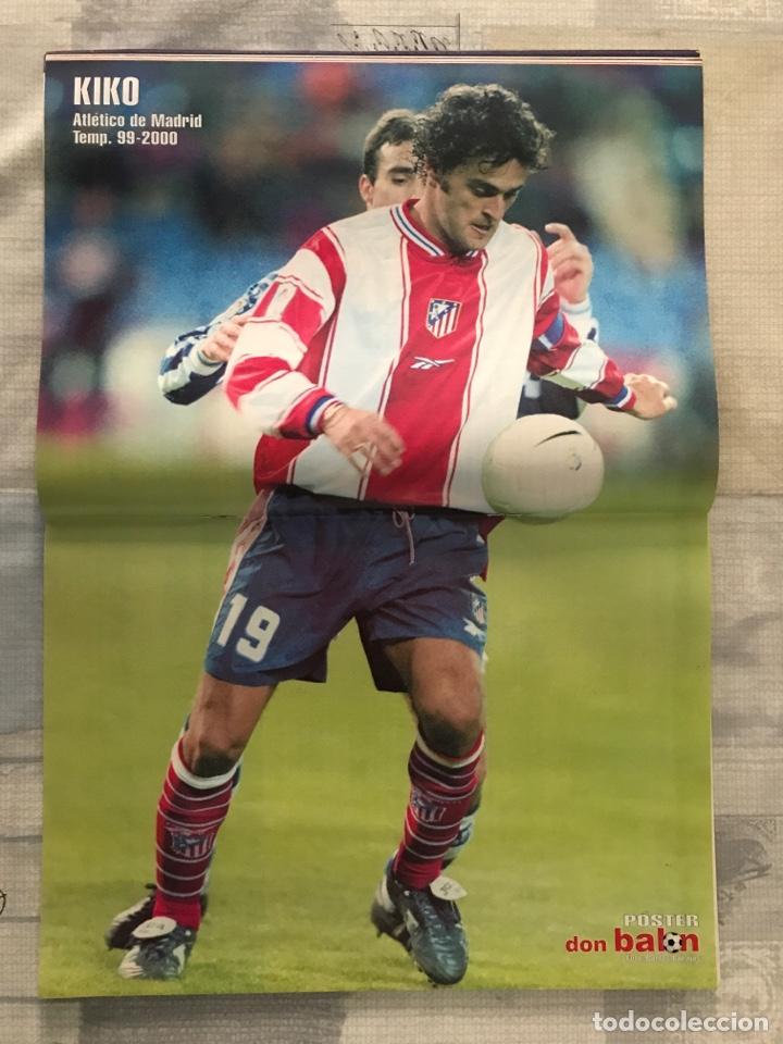 Coleccionismo deportivo: Fútbol don balón 1272 - Poster Kiko Atlético - Madrid vs Barça - Betis - España - V. Nistelrooy - Foto 5 - 235229020