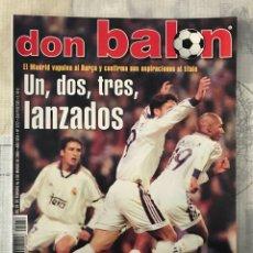 Coleccionismo deportivo: FÚTBOL DON BALÓN 1272 - POSTER KIKO ATLÉTICO - MADRID VS BARÇA - BETIS - ESPAÑA - V. NISTELROOY. Lote 235229020